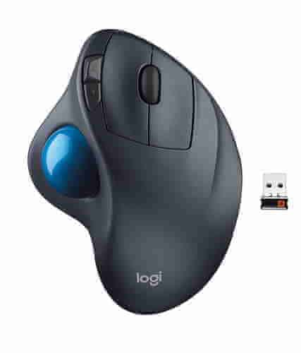 My mouse/trackball: Logitech M570