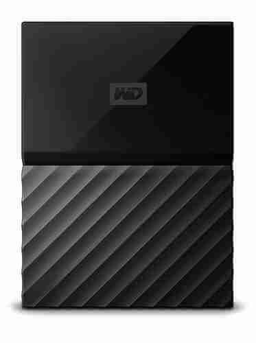 My external storage hard drive (1): WD 4TB Black My Passport