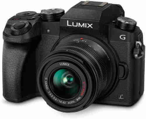 My DLSR camera: Panasonic LUMIX G-7